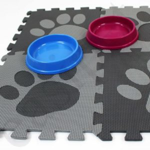 Dog Cat Puppy Kitten Pet Feeding Bowl Mat Food Water Non Slip Easy Clean Easipet