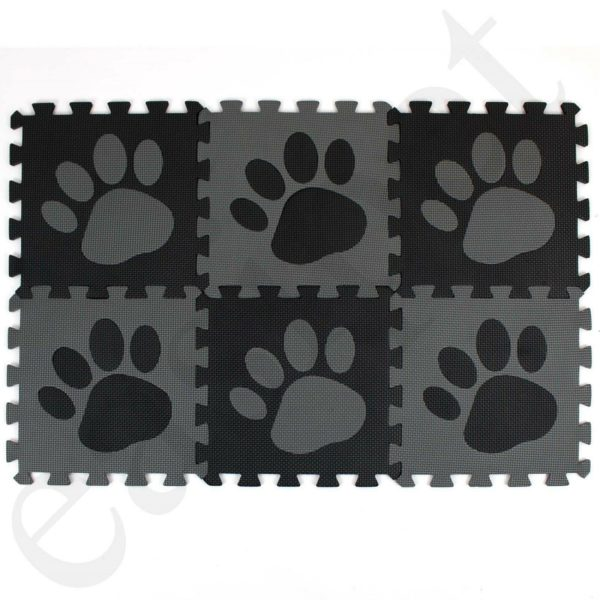 Dog Cat Puppy Kitten Pet Feeding Bowl Mat Food Water Non Slip Easy Clean Easipet