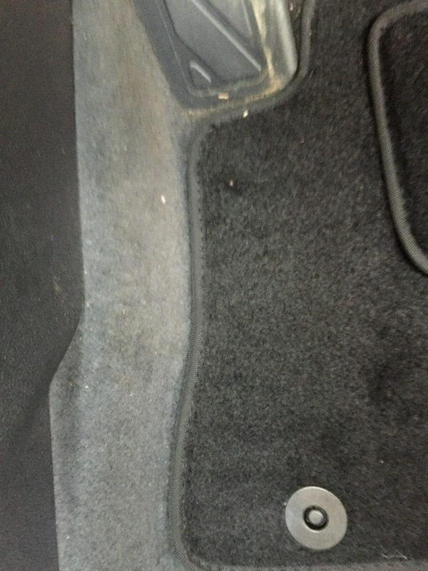 Peugeot 207 2006 Onwards Tailored Carpet Car Mats Black 4pc Floor Mat Set