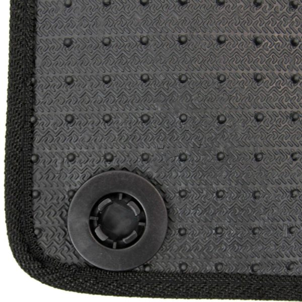 Mercedes A Class W176 2012-2018 Tailored Carpet Car Mats Black 4pc Floor Set