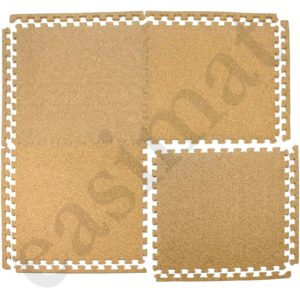Cork Floor Mats Tiles Soft EVA Foam Base Play Home Protective Flooring Easimat