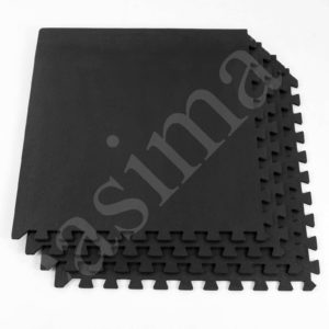 Industrial Garage Gym Reception Interlocking Firm Foam Tiles Anti Fatigue 110