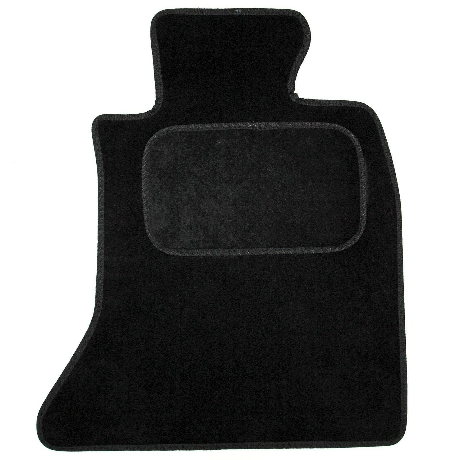New Fits BMW X1 10 On Black Tailored Set of 4 Fitted Carpet Car Floor Mats