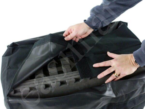 Large Nylon Carry Storage Bag for Carpet Tiles Gym Exercise Exhibition Mats