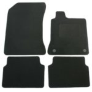 Renault Laguna 3 2007 onwards Black Carpet Car Mats 4pcs Set 74640
