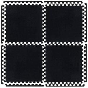 Industrial Heavy Duty Dark Grey Garage Floor Tiles (21110) (32 Mats – 128sqft)