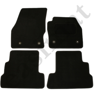 Ford Kuga 2015 onwards Black Carpet  – Car Floor Mats 4pc Set 74852