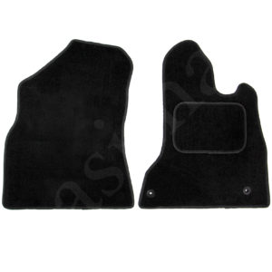 Citroen Berlingo 2008 – 2018 Carpet Van Car Mats Black 2pcs Set – 74941