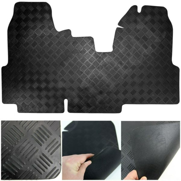 Fits Ford Transit Van Mk7 2006-2013 Tailored Rubber Car Mat 1pc Floor Set