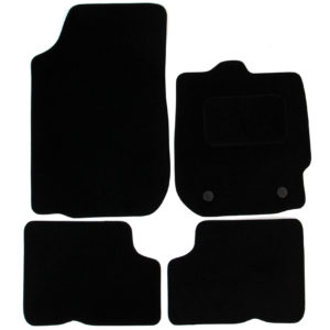 Fits Dacia Duster 2013-2018 Tailored Black Carpet Car Mats 4pcs Floor Mat Set